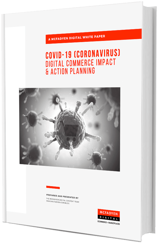 COVID-19 (Coronavirus)Digital Commerce Impact and Action Planning White Paper Cover