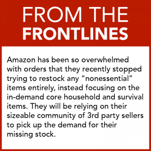 From the Frontlines - Amazon Setting Example in COVID-19 Response