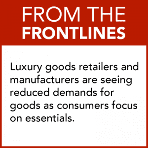 From the Front Line - Luxury Retail COVID-19 Impact