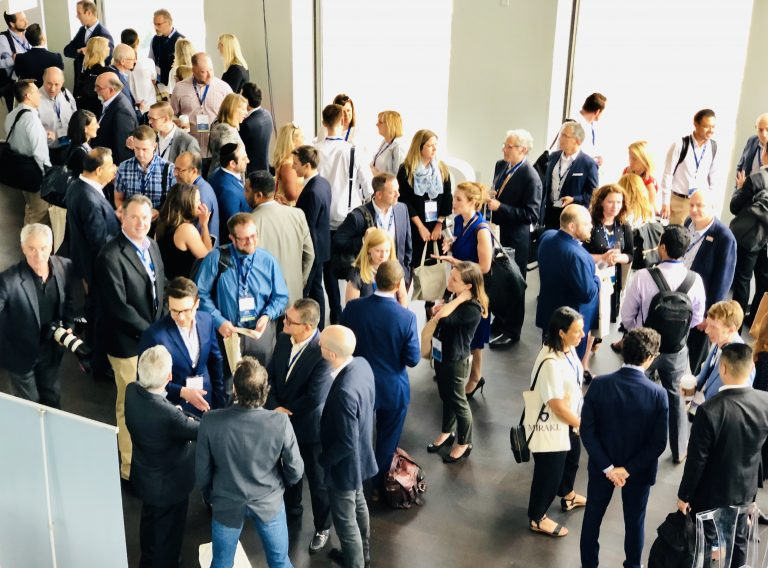 Networking at The Marketplace & Platform Summit